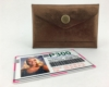 Lined Card Case – Copper/Teal