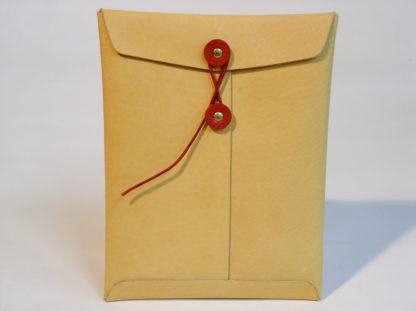 gbb custom leather iPad mini leather envelope