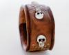 Precious Metal Skull Cuff
